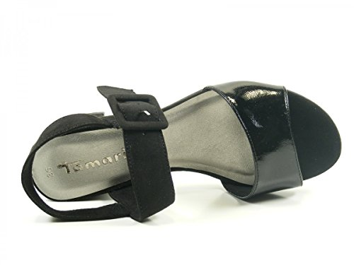 Tamaris 1-28211-28 sandales mode femme Schwarz