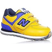 new balance 574 niño amarillo