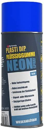 Plasti Dip Spray (Plasti Dip 61090015 Flüssiggummi Spray, 400 ml, Neon Blau)
