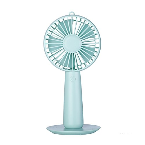 LSYR Hand Spiegel Fan USB Mini Fan Hand Klimaanlage Fan doppelseitig Make-up Spiegel wiederaufladbar tragbar