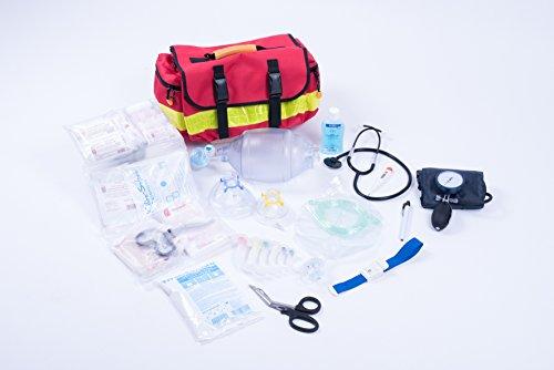 Preisvergleich Produktbild AKTION 1 - Notfalltasche Gr. M - ROT - Polyester gefüllt mit MIH Füllung EAN by MIH