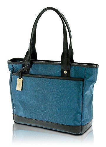 Bugatti Contratempo Damen Handtasche/Shopper mit Laptop-Fach, Petrol Blau -