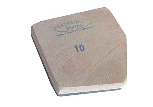 Abziehstein Belgischer Brocken Größe 10 entspricht 84-102 cm², z.B.9x10cm