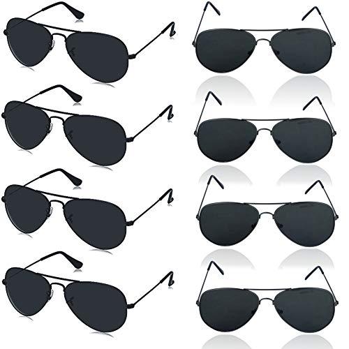 German Trendseller® - 12 x Sonnebrille - Piloten Brille - Deluxe Design ┃ UV 400 Protection ┃ CE ┃ Versand aus Deutschland ┃ 12 Sonnenbrillen