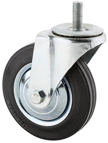 steelex D2545Gewinde Swivel Industrielle Caster mit Kapuze, 6–1/4-Zoll