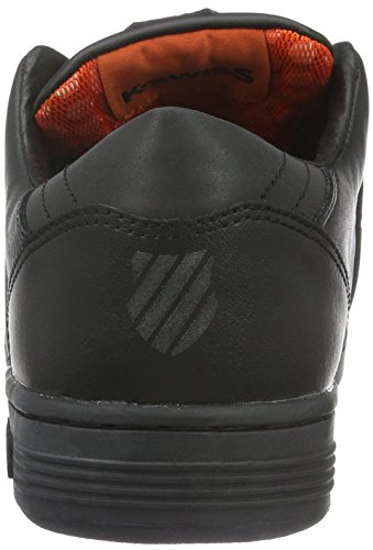 K-Swiss Herren Lozaniii TT Rflctv Low-Top Schwarz (Black/Mandarin Red)