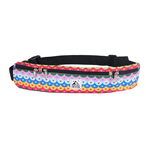 squarex Unisex Fashion Sports Multifunktionssporttaschen wasserdichte Taschen Damen Mädchen Brusttasche Frauen Umhängetasche Umhängetasche