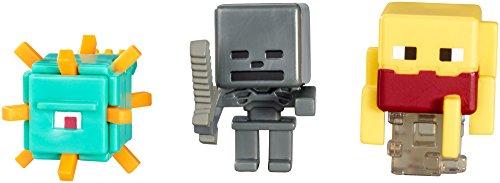 Minecraft 3pack Mattel Actionfiguren Serie K