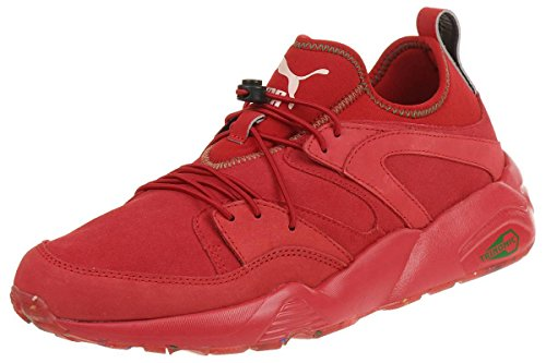 Puma Bog Soft Flag Trinomic Sneaker Men Leder 361891 03 red Red