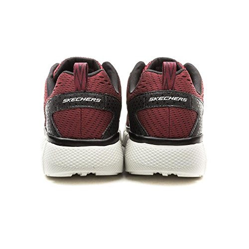 Skechers Equalizer 2.0 Settle the Scor, Chaussures Multisport Outdoor Homme Rouge