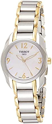 Tissot Women's White Dial Color Metal Band Watch - T023.210.22.11