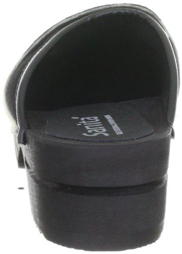 Sanita Wood-Caroline open 1706199W-2, Chaussures montantes femme Noir-TR-H4-531