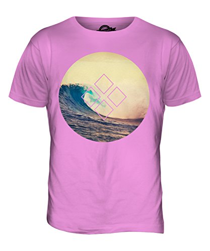 CandyMix Sommer Surfen Herren T Shirt Rosa