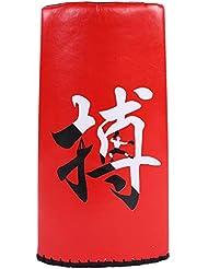 SolUptanisu Boxeo Target Pad, Objetivo de Patada Almohadilla de Escudo de Puntería de Entrenamiento de Punzonado Pad Kick Punching para Boxeo Karate Taekwondo para Adultos y Niños,Rojo,Negro(Rojo)