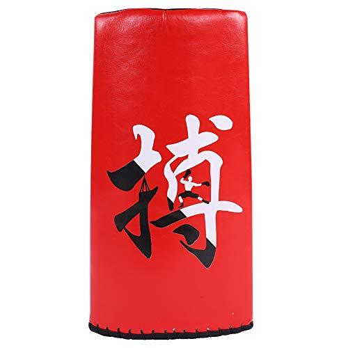 Bnineteenteam Taekwondo Kick Pad, gebogenes Pad Kicking Shield Target für Taekwondo Martial Arts Karate Sanda (klein)(Rot) -