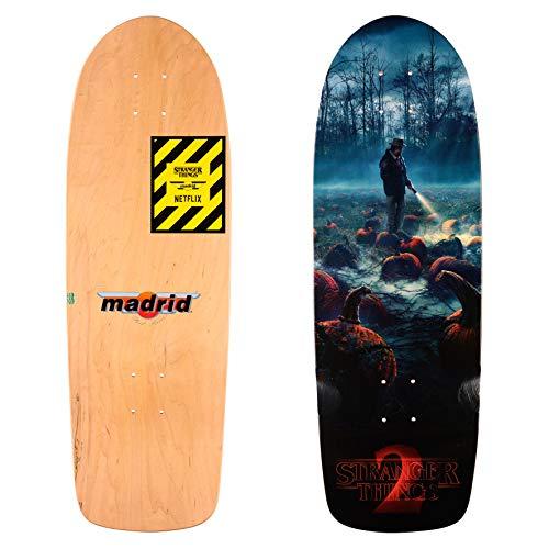 Madrid Skateboards x Stranger Things Cruiser Deck ST2 Pumkin 74,3cm -
