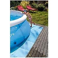 Tappeto tappetino materassino base protezione sottofondo piscina 50x50 cm per Intex Bestway
