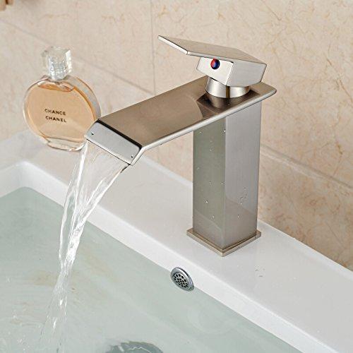 BL@ Europeo rame nichel spazzolato rubinetto caldo dell'acqua fredda di