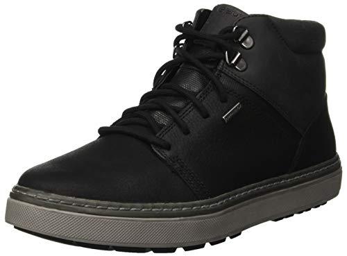 Geox Herren U Mattias B ABX A Chukka Boots, Schwarz (Black C9999), 43 EU
