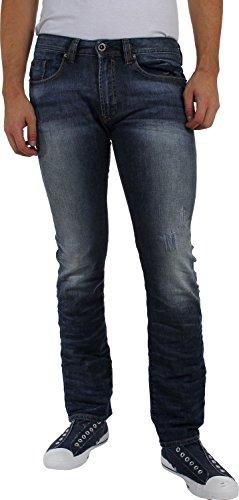 Buffalo David Bitton - Skinny Leg Jeans Herren Ash-X Indigo
