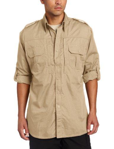 propper-mens-long-sleeve-regular-tactical-shirt-khaki-x-small