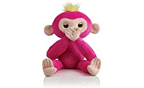 Fingerlings HUGS - BELLA - Friendly Interactive Plush Monkey Toy - by WowWee