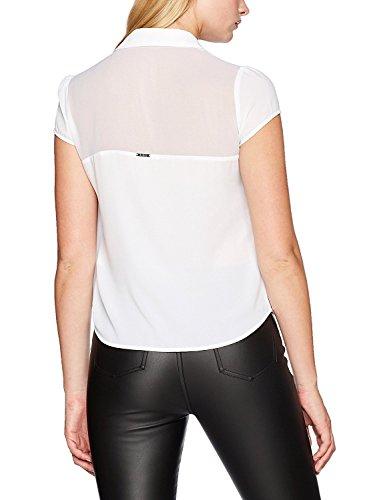 Guess Damen Freizeithemd Weiß