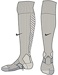 Nike Referee Kit Sock - Calcetines unisex, color gris / negro, talla S