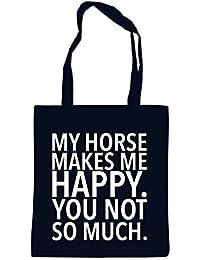 My Horse Makes me Happy - You Not Borsa Nero Certified Freak a46aa8cec62
