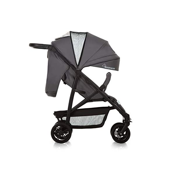 Hauck Rapid 4 X Plus Trio Set, 3-in-1 Travel System from Birth Up To 25 kg, Infant Car Seat Group 0, Carrycot and Buggy, One Hand Fold, Height-Adjustable Push Handle, Lying Position, Mickey Cool Vibes  3 in 1 stroller set. includes pushchair, carry cot and group 0+ car seat. Rapid fold system. the one hand fold system makes this pushchair ideal for shopping trips, and it folds small enough to fit in most car boot Optional isofix base.  the group 0+ car seat is compatible with the hauck comfort fix car seat base. 9