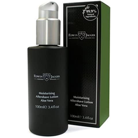 Edwin Jagger 99.9% Natural Moisturising Aftershave Lotion - Aloe Vera, 3.4-Ounce by Edwin Jagger