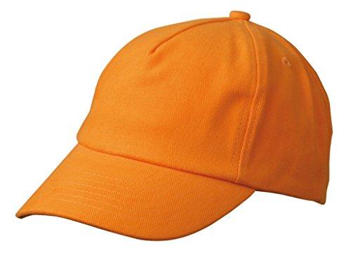 Myrtle Beach Casquette enfants avec visiere large Orange