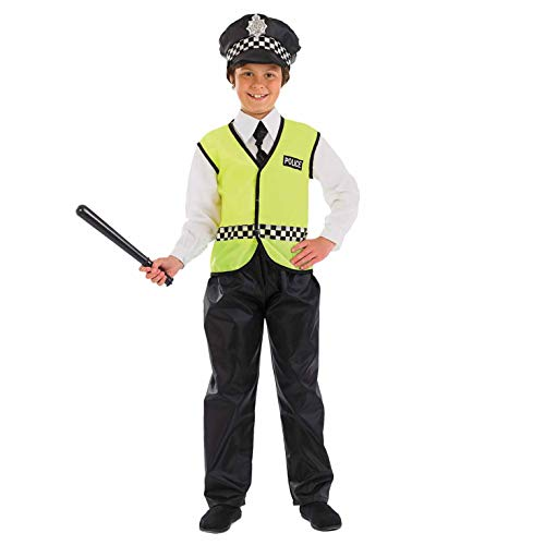 Fun Shack FNK3589XL Kostüm, Unisex Children, Police Officer, xl