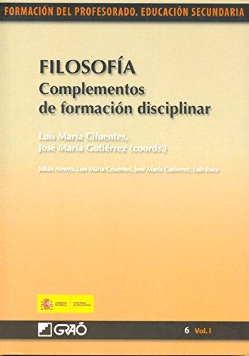 Filosofía. Complementos de formación disciplinar eBook: Luis Roca ...