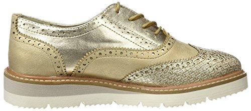 ... XTI Damen 046706 Derby-Schuhe Gold