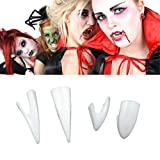 Happy Event Halloween 4Pcs Replikat Ekel Ugly Prothese Falsche Faulen Zähne Modell Zahn | Perfekter Halt durch Individuelle Anpassung
