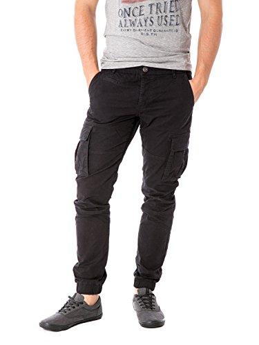 ONLY & SONS - Pantalone da uomo con elastici alle caviglie tang cargo cuff w31 l32 nero