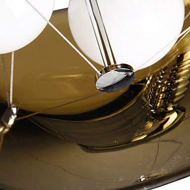 MingXinJia Moderne Kronleuchter Deckenleuchten Anhänger Italy Style is Contemporary Classic 3 Light Anhänger in Schwarzer Durchsichtiger Abdeckung 3C Ce FCC Rohs für Schlafzimmer im Wohnzimmer, 11 -