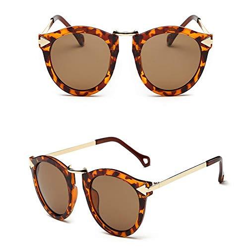 HSHUO Damen Sonnenbrille Sonnenschutz Polarisator Männer und Frauen UV400@C1