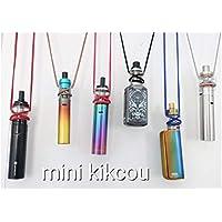 Porte cigarette électronique universel, discret, transparent, convient à toutes les marques de e-cigarettes, VAPORESSO, SMOK, ELEAF, TESLA etc. Le MINI KIKCOU.