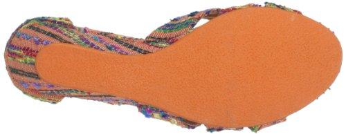 Blowfish Sable BF2876 SP13, Sandali con la zeppa donna Arancione (Orange (orange Kaftan woven BF273))