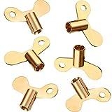 6 Packung Heizkörper Schlüssel Heizkörper Entlüftungsschlüssel Heizungsschlüssel für Schraube Luft Ventil