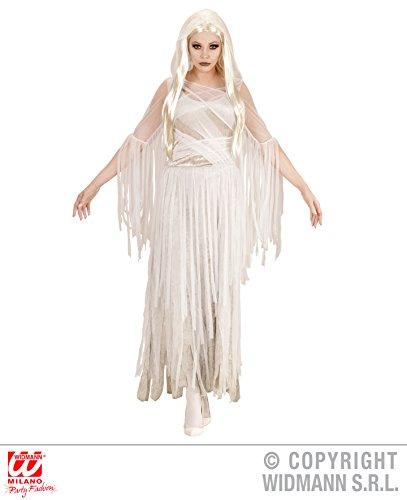 Ghost Lady Kostüme (KOSTÜM - GEISTER SEELE - Größe 42/44 (L), Death Bride Skelette Tod Totenkopf Lady spirituell Ghost)