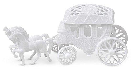 Staedtler Haus Kuchen Dekoration Coach, 13x 6cm, plastik, weiß, 13 x 6 x 30 cm