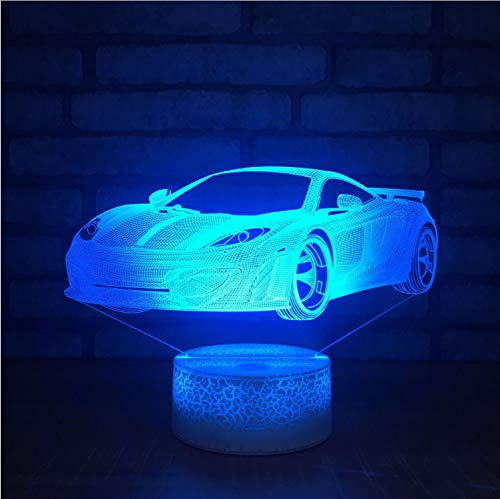 eine Nacht Der Lichter 3D Beleuchtet Bunte Geführte Lichter Kreative Tätigkeits-Geschenk-Lampen- Kleine Tabelle 3D Leuchten ()