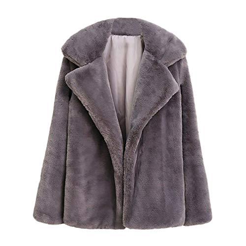 iHENGH Vorweihnachtliche Karnevalsaktion Damen Herbst Winter Bequem Lässig Mode Frauen Winter warme Dicke Mantel Fester Mantel Mantel Jacke Strickjacke Mantel