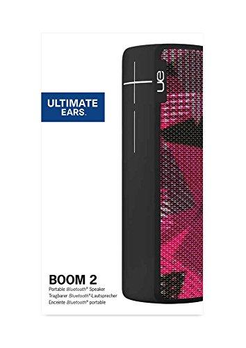 Ultimate Ears BOOM 2 Wireless/Bluetooth Speaker (Waterproof and Shockproof) - Twilight Magenta