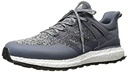 adidas Mens Crossknit Boost Midgre/on Golf Shoe, Grey, 8 M US