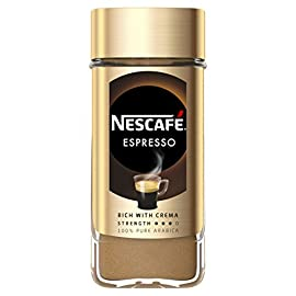 NESCAFÉ GOLD ESPRESSO Instant Coffee Jar, 100 g (Pack of 6)