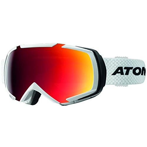 Atomic AN5105354 Occhiali da Sci, Bianco, Taglia Unica